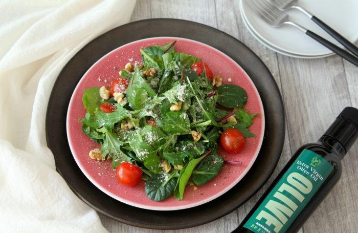何かと忙しい新生活に! 調理時間2分でできる「ノーカットサラダ」で健康をキープしよう