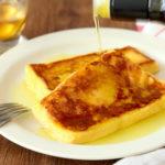 オリーブオイルをひとかけ 濃厚フレンチトースト