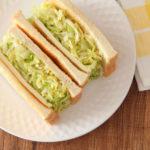 マヨ無しでもおいしい! 旬のキャベツたっぷりな「キャベツとチーズのサンドイッチ」